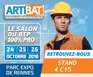 Salon ARTIBAT du 24 au 26 octobre 2018